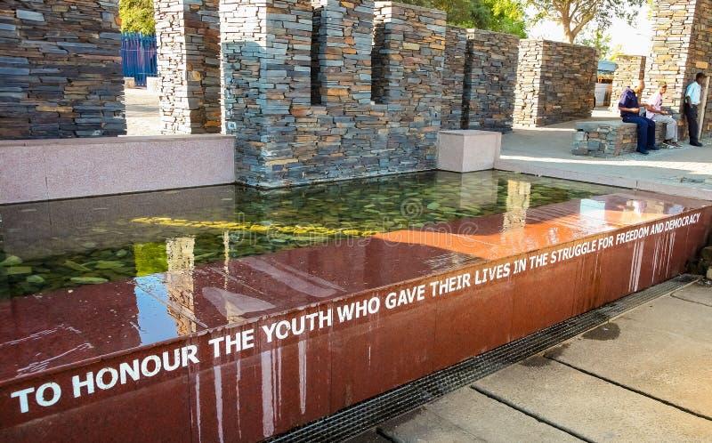 Hector Pieterson Memorial Museum exterior em Soweto Joanesburgo imagem de stock