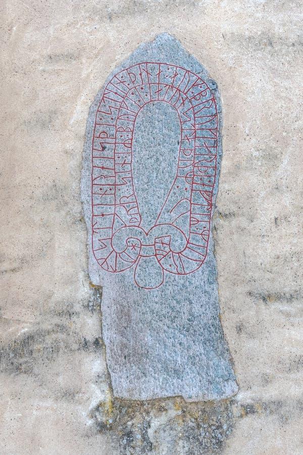 Heda kościół runestones zdjęcia stock