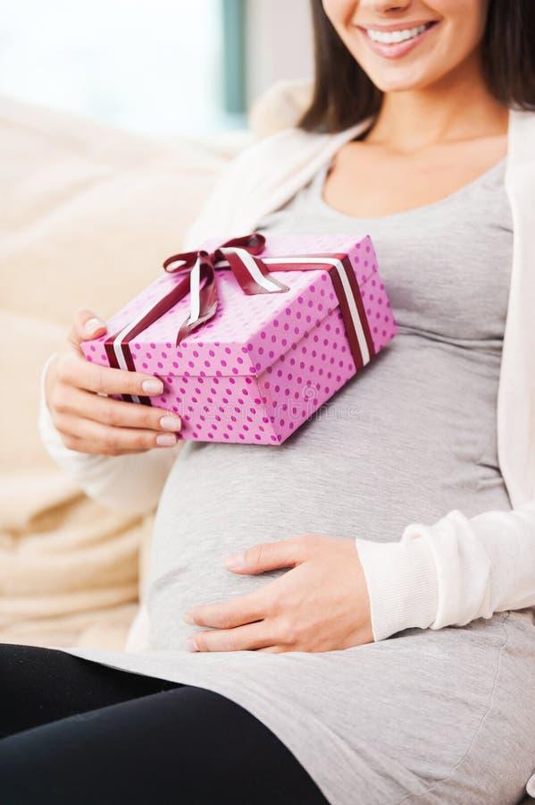 Heden voor toekomstige baby stock afbeeldingen