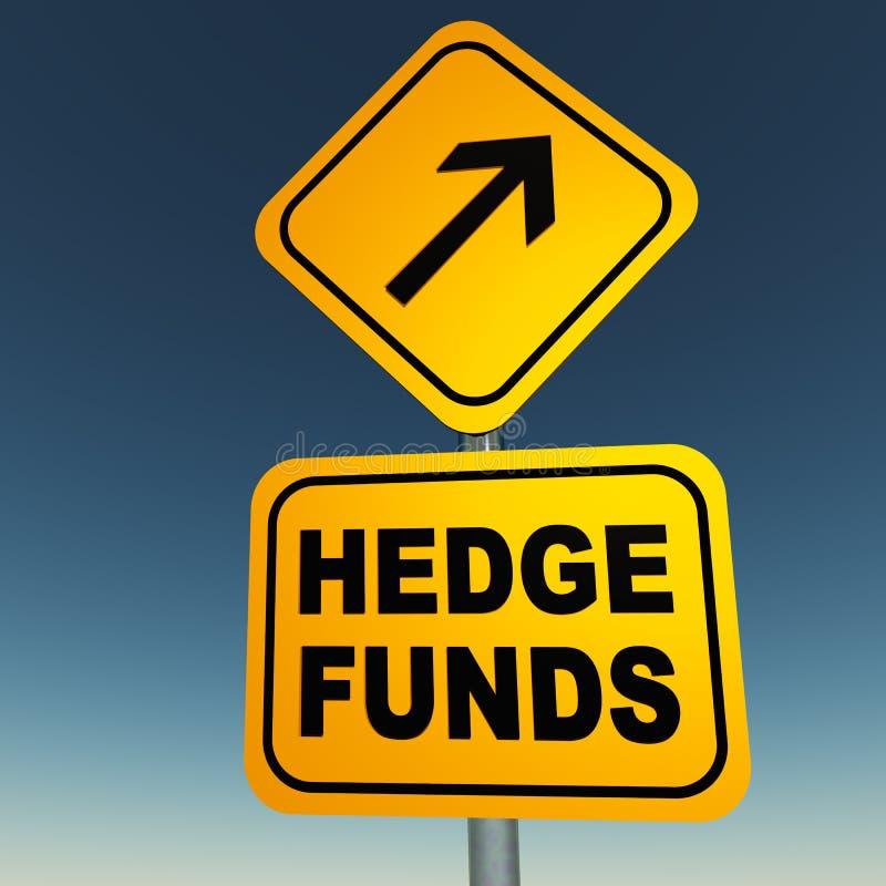 Hedge fund illustrazione vettoriale