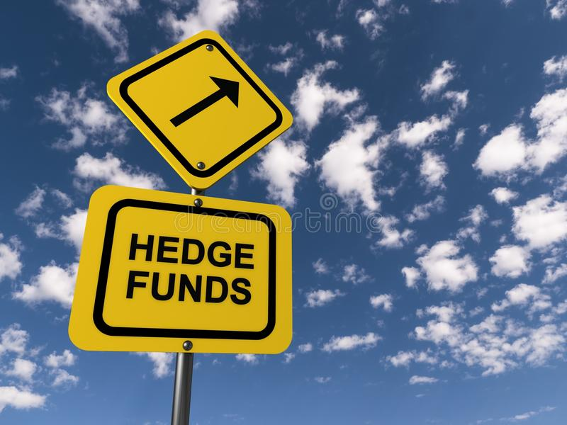 Hedge fund illustrazione di stock