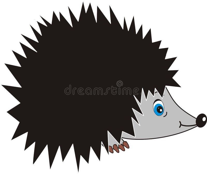 Hedgehog ilustração royalty free