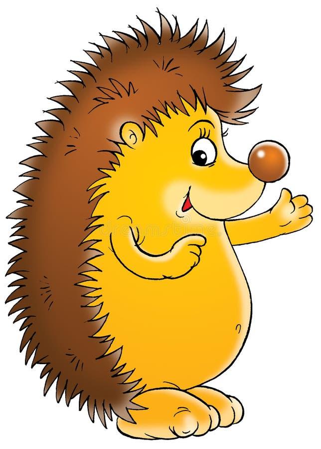 hedgehog stock illustration illustration of clipart card 1644542 rh dreamstime com hedgehog clipart pinterest hedgehog clipart png