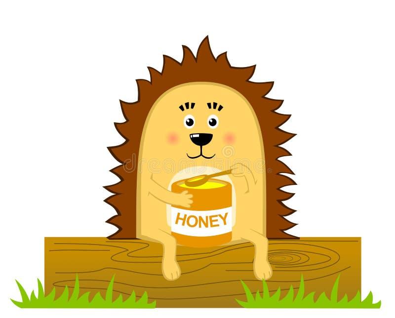 Download Hedgehog stock illustration. Illustration of attractive - 25228499