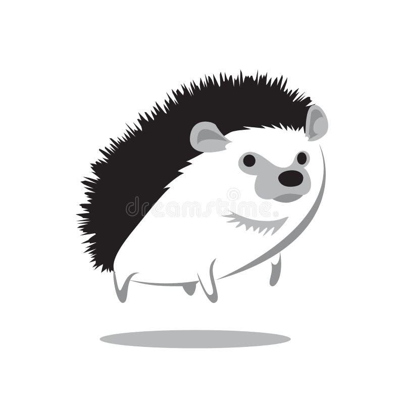 hedgehog ilustração stock