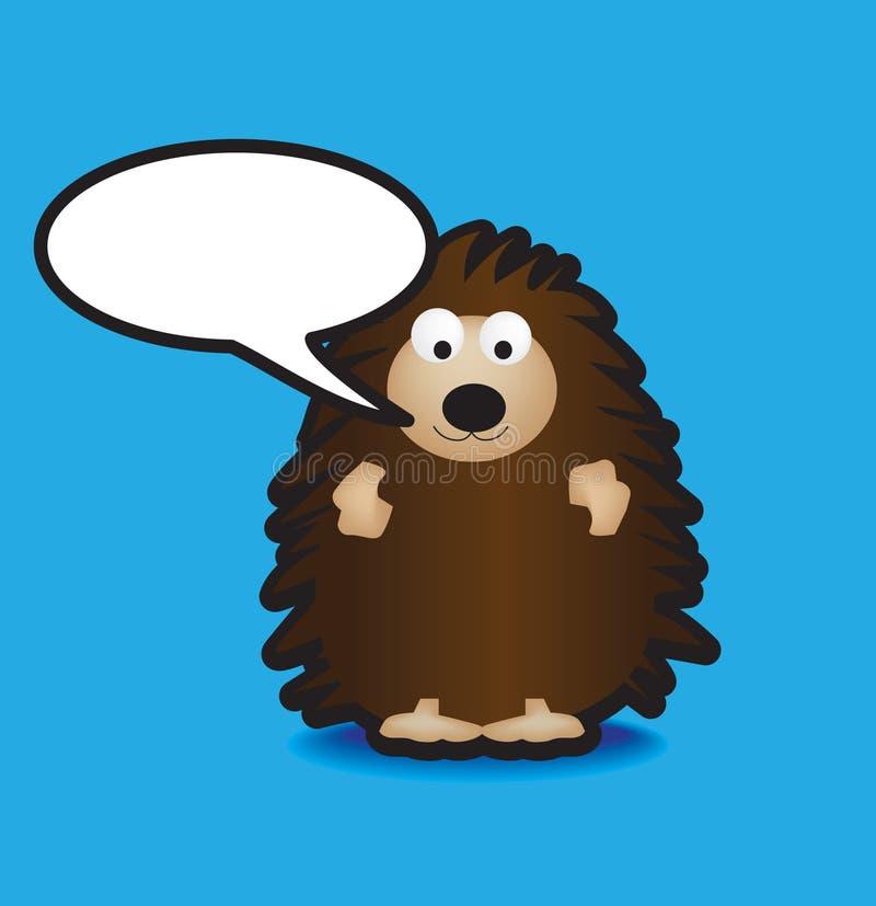 Download Hedgehog stock vector. Image of hedge, smile, gift, animal - 8682627