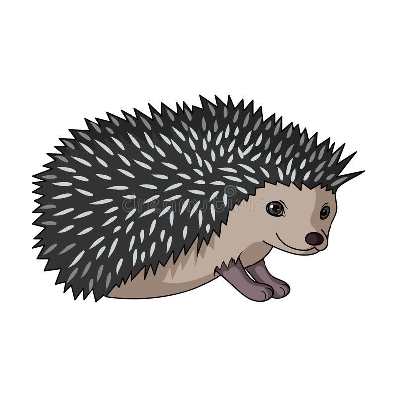 Hedgehog.Animals single icon in cartoon style rater,bitmap symbol stock illustration web. Hedgehog.Animals single icon in cartoon style rater,bitmap symbol stock illustration