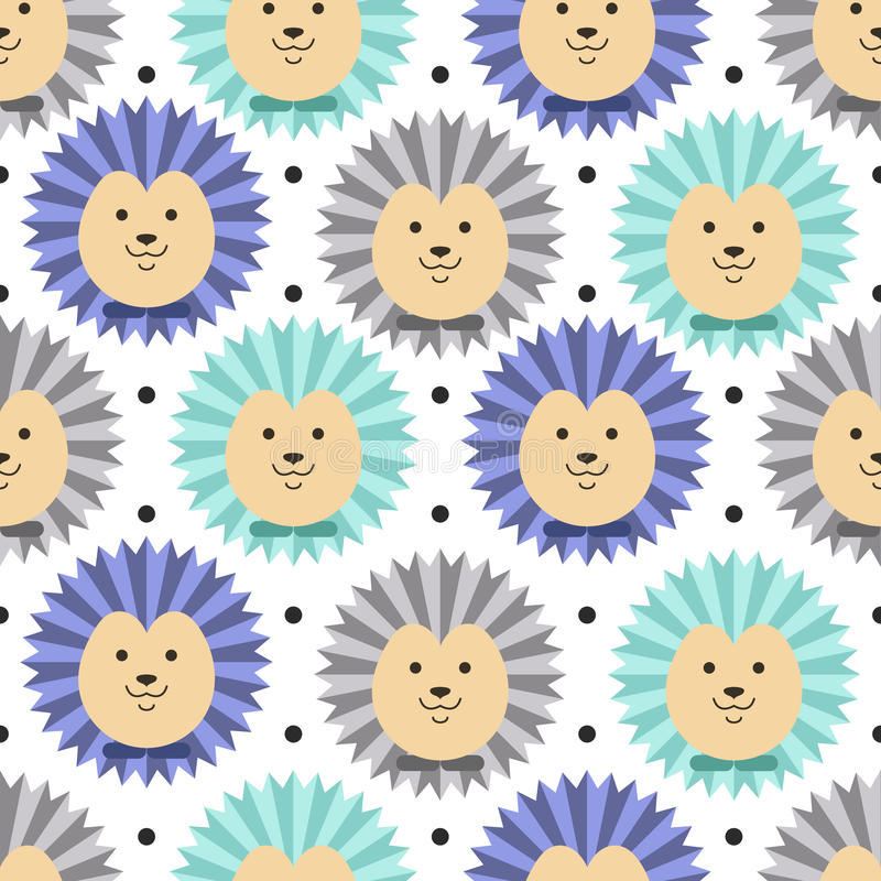 Hedgehog pattern stock photography
