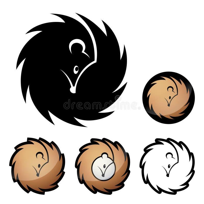 Download Hedgehog symbol stock vector. Image of nose, hedgehog - 28539114