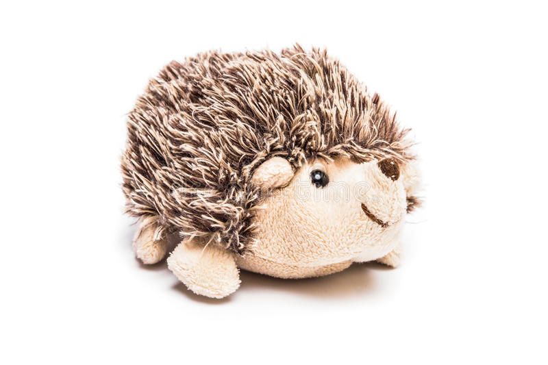 Hedgehog toy stock images