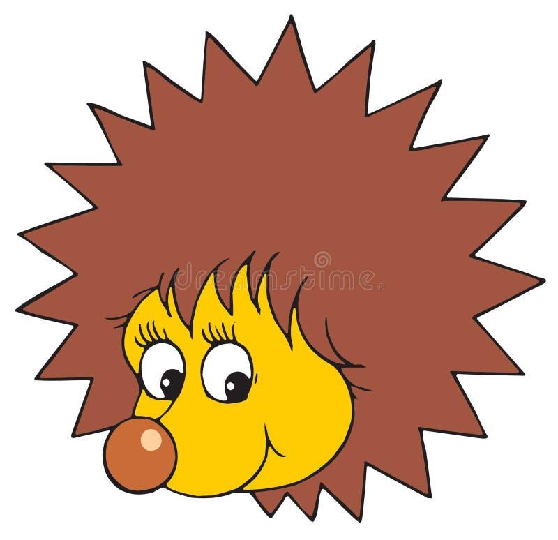 hedgehog vector clip art stock vector illustration of barbed rh dreamstime com hedgehog clipart cute hedgehog clipart cute