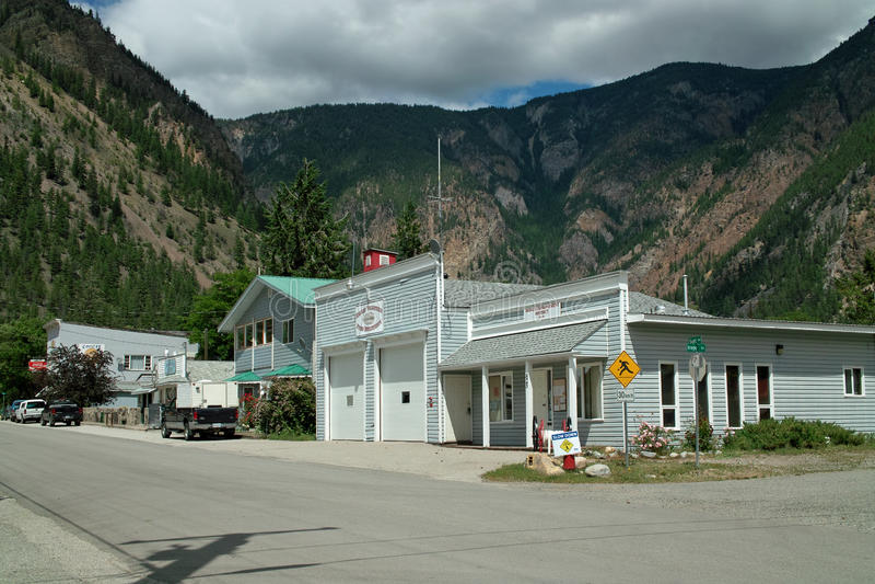 Hedley, estrada de Crowsnest, BC #3, B.C. Canada imagens de stock royalty free