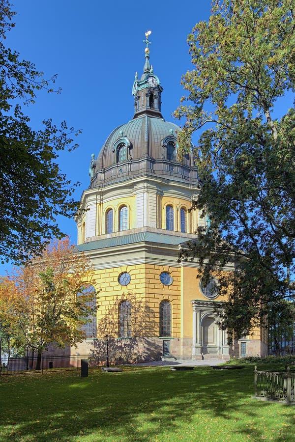 Hedvig Eleonora Church en Estocolmo fotografía de archivo libre de regalías