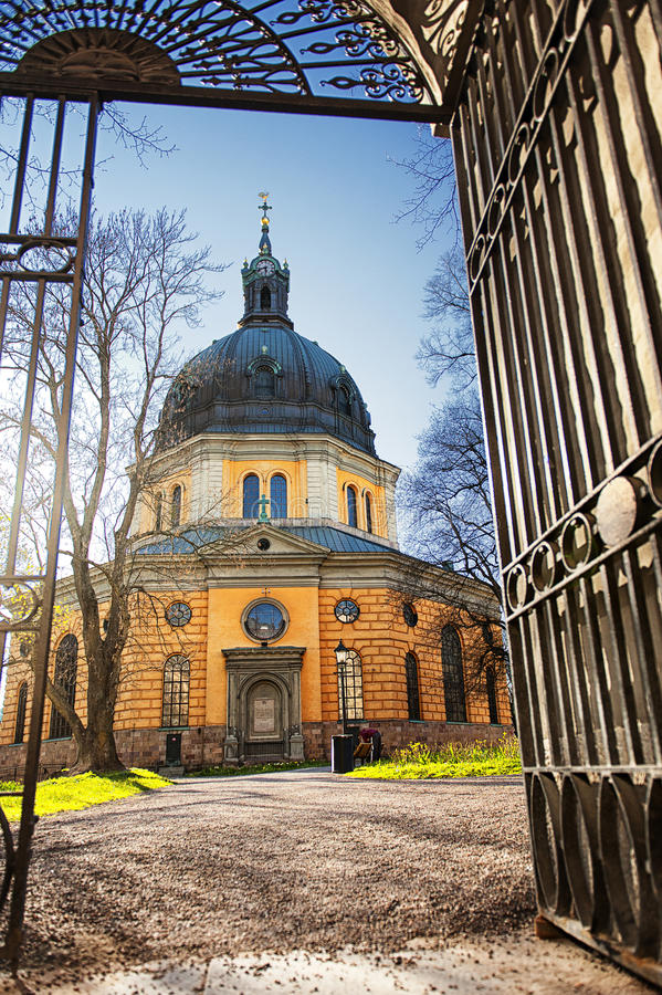 Hedvig Eleonora Church In Stockholm, Sweden Stock Photo