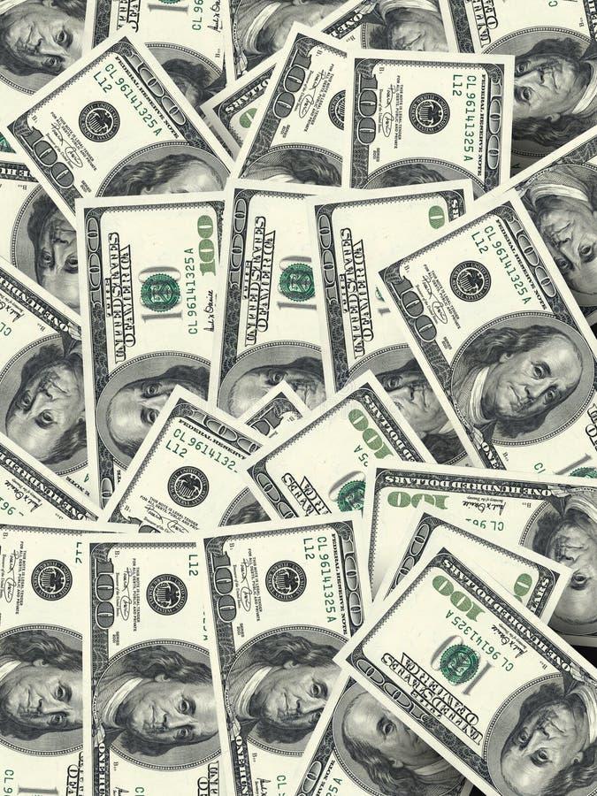 Heel wat geld royalty-vrije stock fotografie