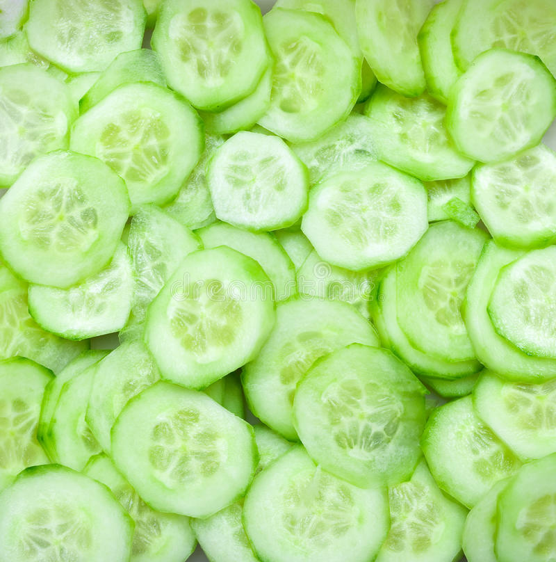 Heel wat komkommer stock foto's