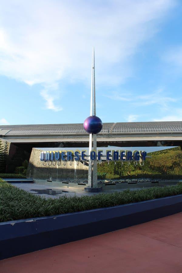 Heelal van Energie, Epcot, Walt Disney World royalty-vrije stock fotografie