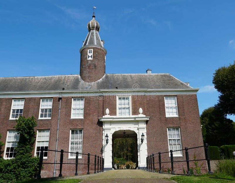 Marquette castle in Heemskerk. Heemskerk, the Netherlands. August 2019. Marquette castle in Heemskerk royalty free stock photo