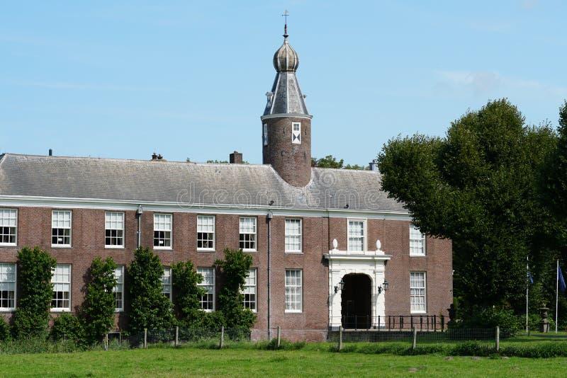 Marquette castle in Heemskerk. Heemskerk, the Netherlands. August 2019. Marquette castle in Heemskerk stock photos