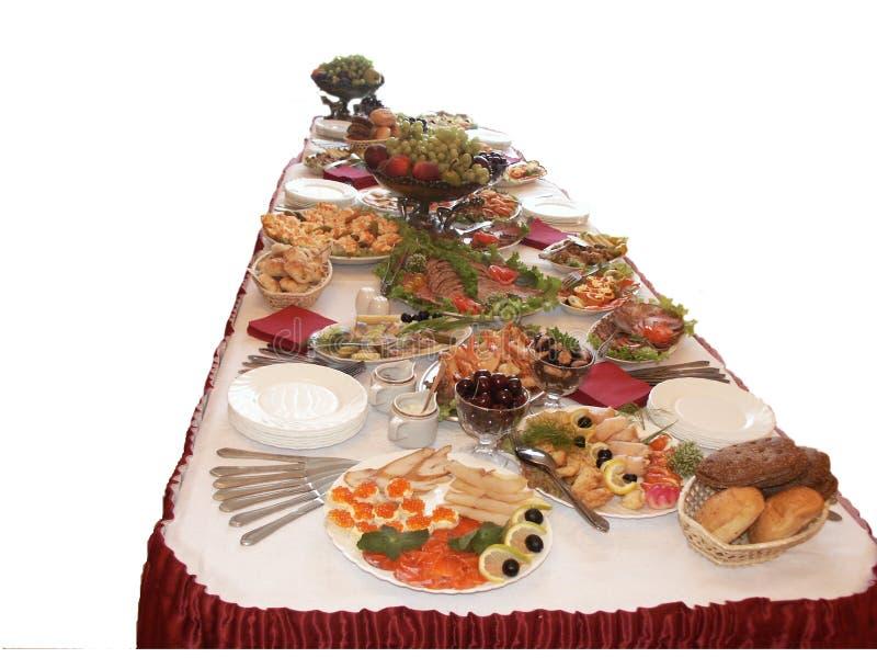 Heerlijk buffet royalty-vrije stock afbeelding