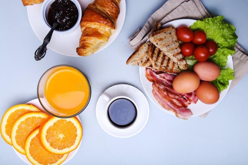Heerlijk ontbijt royalty-vrije stock afbeeldingen