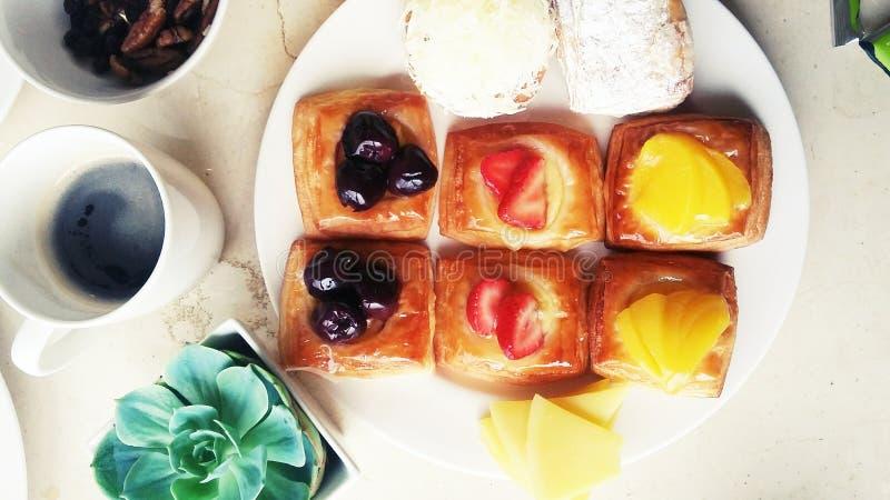 Heerlijk ontbijt royalty-vrije stock afbeelding