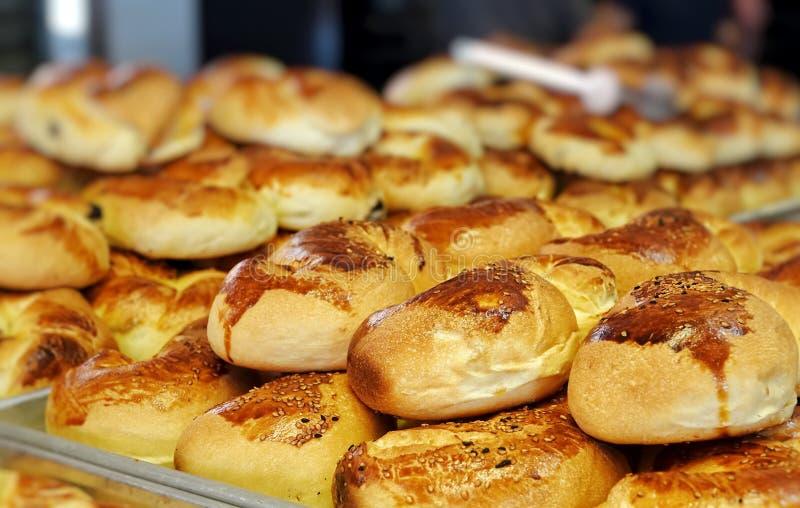 Heerlijk Smakelijk Gebakjevoedsel voor Ontbijt stock afbeelding