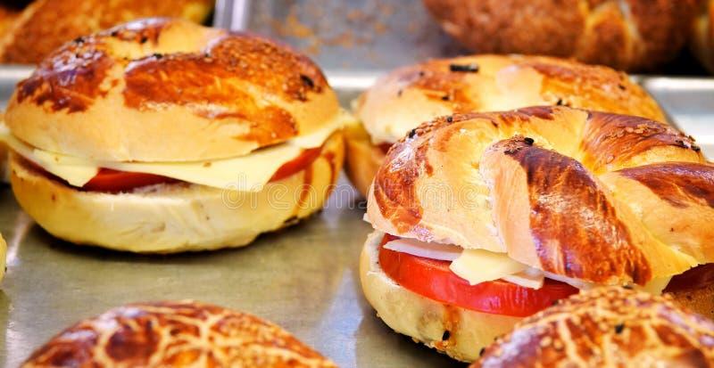 Heerlijk Smakelijk Gebakjevoedsel voor Ontbijt stock fotografie