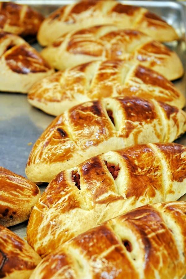 Heerlijk Smakelijk Gebakjevoedsel voor Ontbijt royalty-vrije stock fotografie