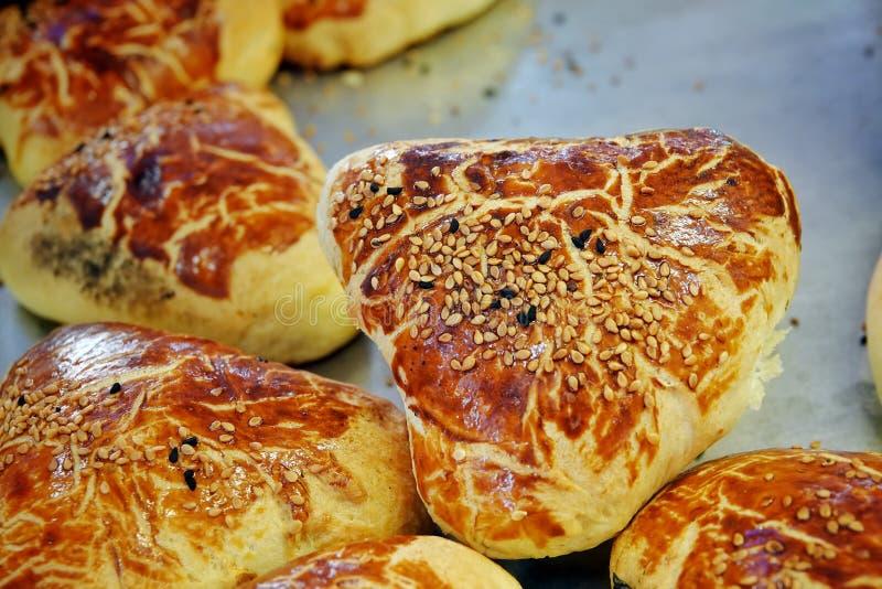 Heerlijk Smakelijk Gebakjevoedsel voor Ontbijt royalty-vrije stock afbeeldingen