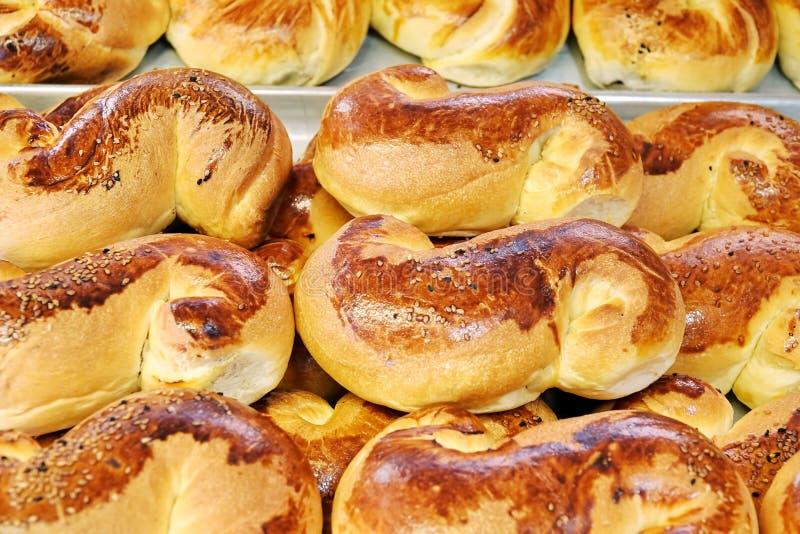 Heerlijk Smakelijk Gebakjevoedsel voor Ontbijt stock afbeeldingen