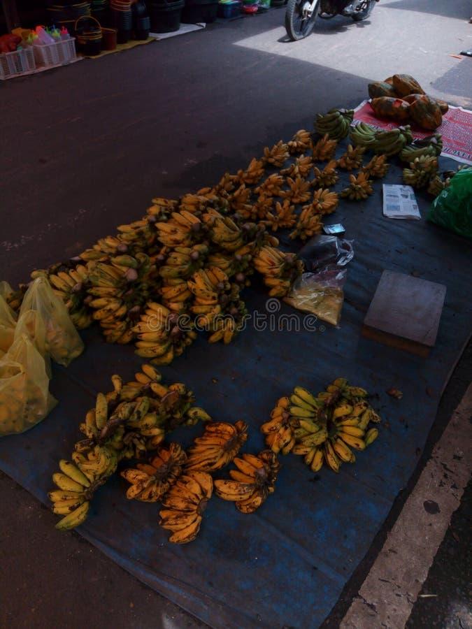 Heerlijke banaan stock afbeeldingen