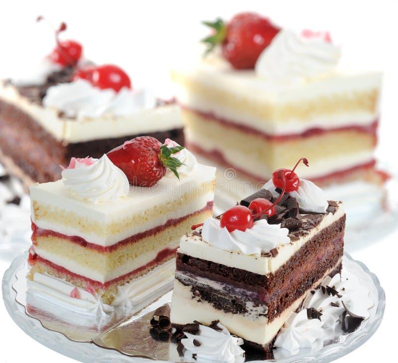 Heerlijke Cakes royalty-vrije stock foto