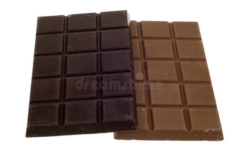 Heerlijke chocolade stock fotografie