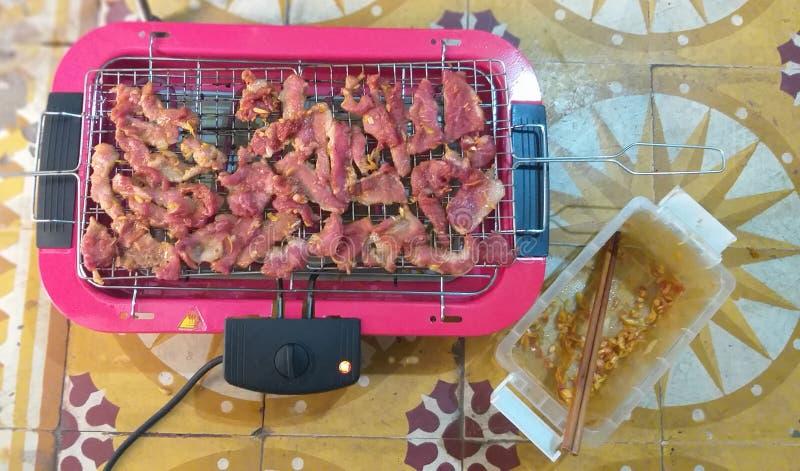 Heerlijke en voedzame barbecue stock afbeeldingen