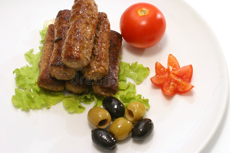 Heerlijke Kebab stock foto
