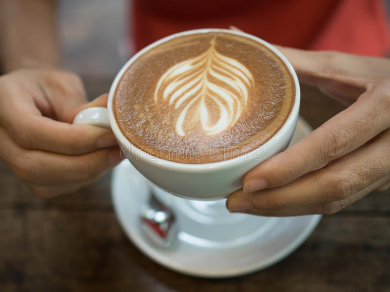 Heerlijke koffie de ochtend royalty-vrije stock foto's