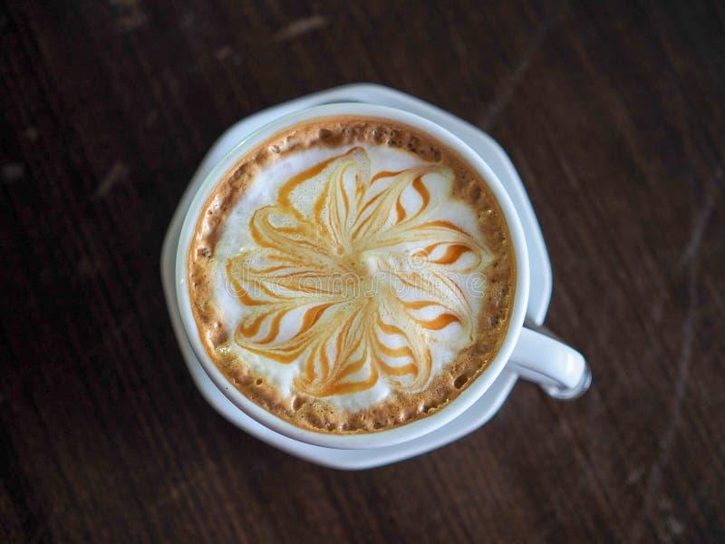 Heerlijke koffie de ochtend royalty-vrije stock foto