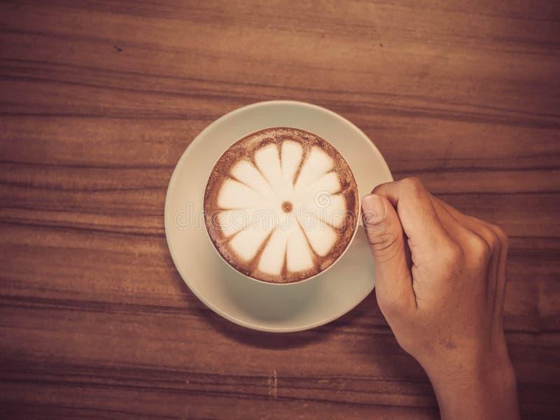 Heerlijke koffie de ochtend royalty-vrije stock afbeeldingen