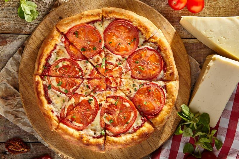 Heerlijke Margarita Pizza royalty-vrije stock fotografie