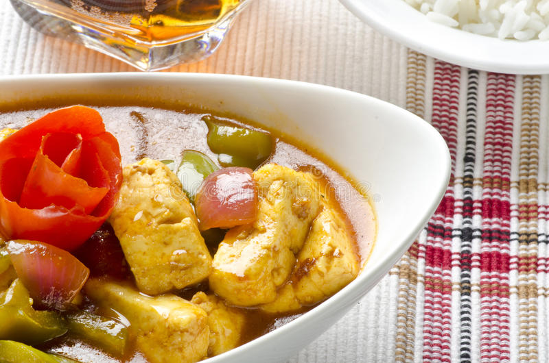 Heerlijke mouthwatering Spaanse pepers paneer stock foto's