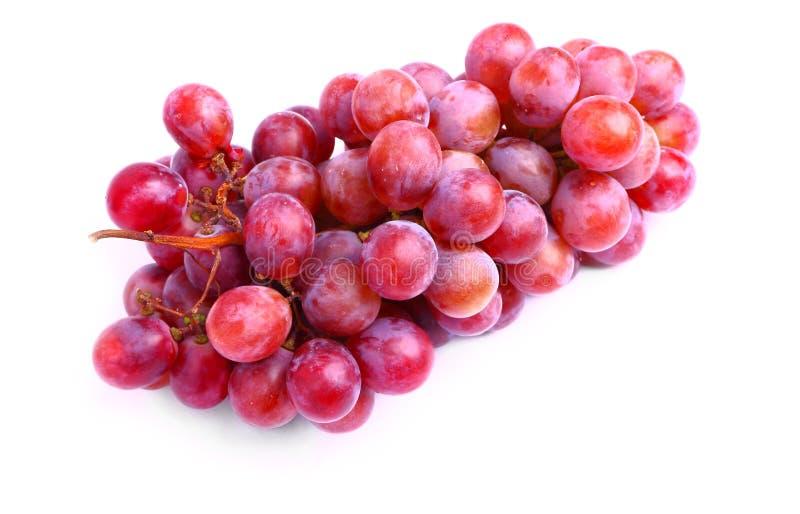 Heerlijke rode druiven royalty-vrije stock afbeeldingen