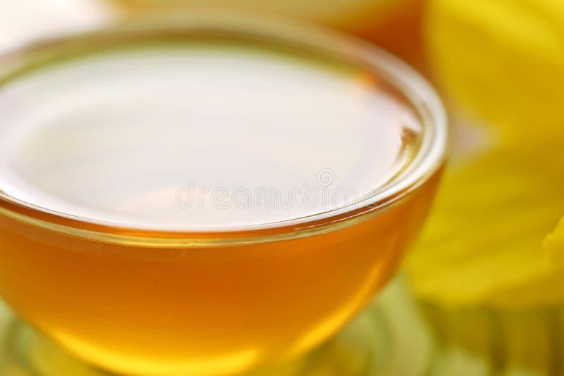 Heerlijke zuivere honing. royalty-vrije stock afbeelding