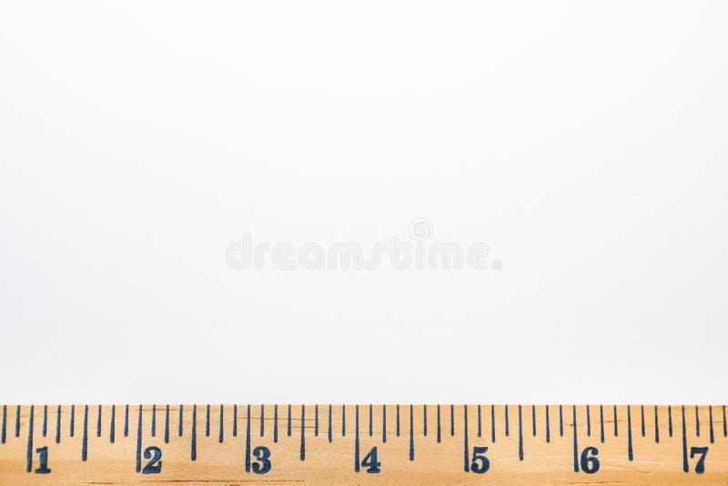 heerser op witte achtergrond stock foto