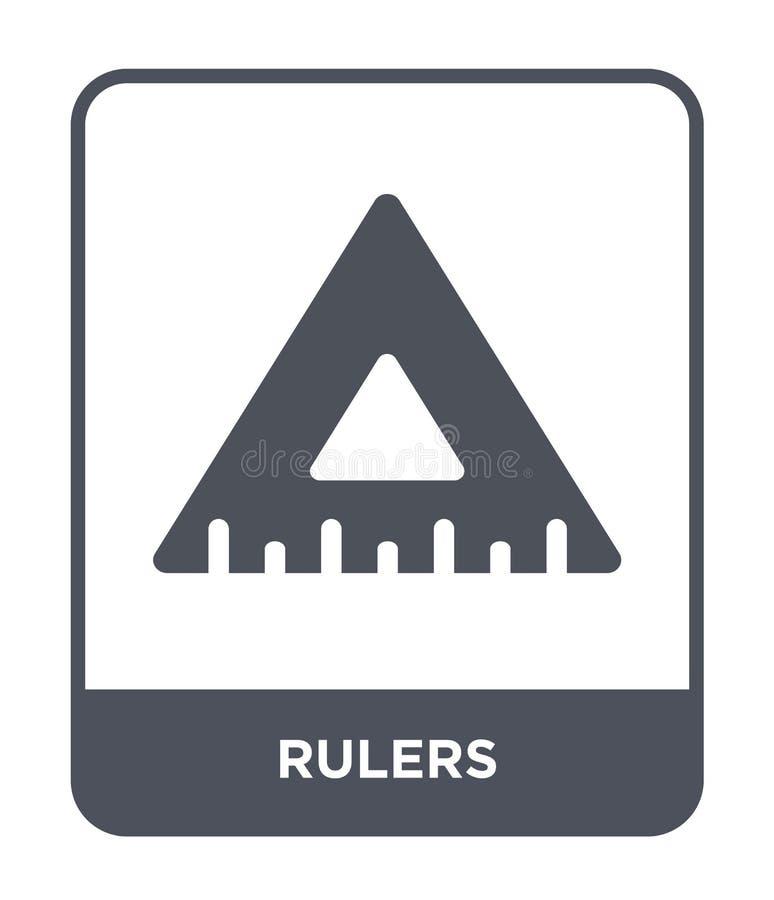 heerserspictogram in in ontwerpstijl Heerserspictogram op witte achtergrond wordt geïsoleerd die eenvoudige en moderne vlakke sym vector illustratie