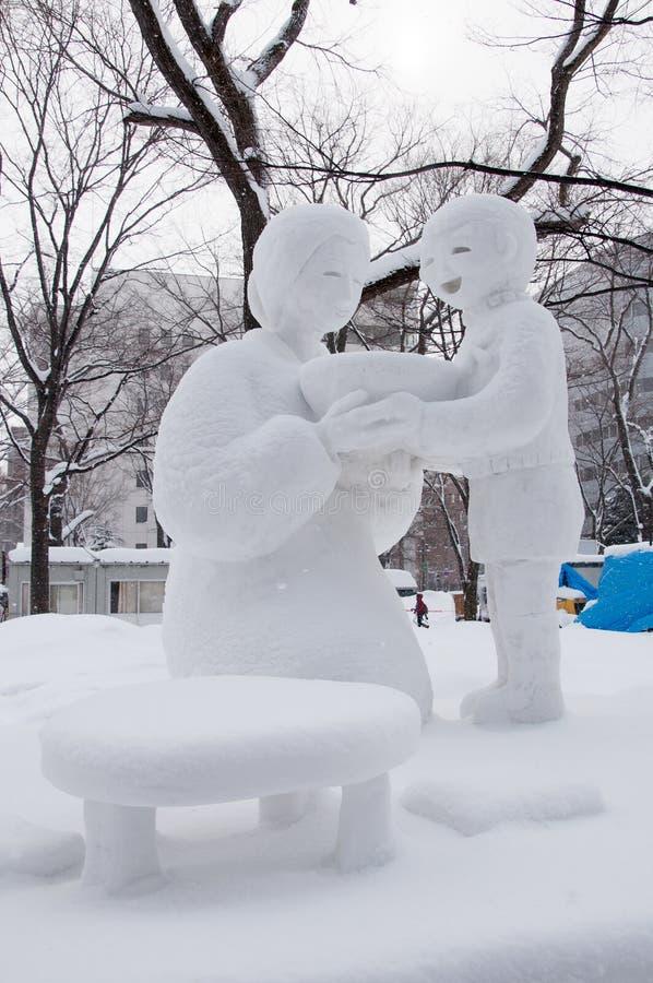 Download Heet Verstrekken Van De Zoon Ramen Voor Mamma, Het Festival 2013 Van De Sneeuw Sapporo Redactionele Stock Afbeelding - Afbeelding bestaande uit festival, noedels: 29502939