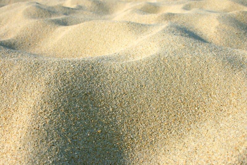Heet zand royalty-vrije stock afbeeldingen