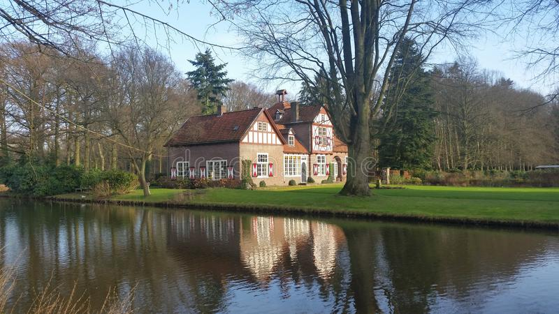 Heeze-Schloss Backhouse stockfoto