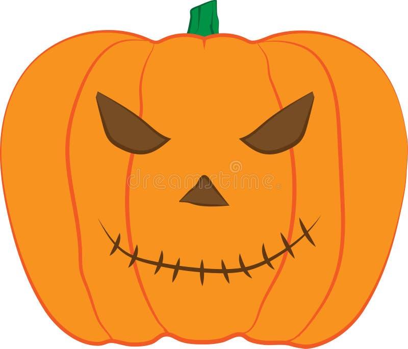 Hefboom-o-LANTAARN illustratie van het Pompoen de vectorontwerp voor Halloween-viering vector illustratie