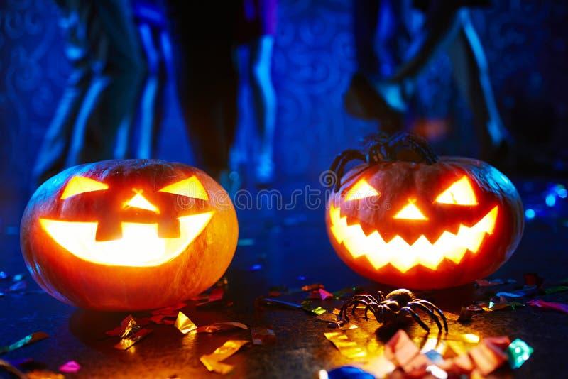 Hefboom-o-lantaarns stock foto's